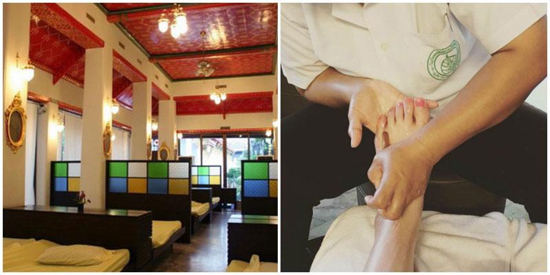 blue thai massage eskort domina