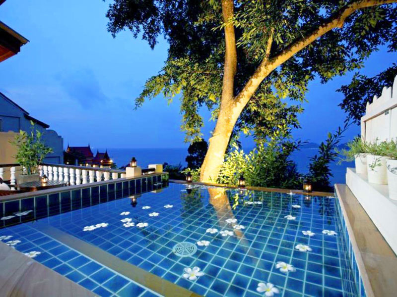 jacuzzi villa with sea - photo #8