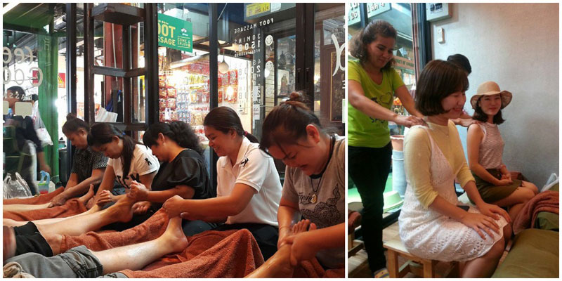 12 Affordable massage/ spa places in Bangkok near shopping