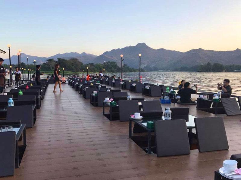 9 riverside restaurants in Kanchanaburi with spectacular views!