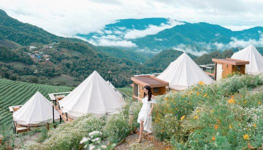 10 Romantic nature retreats for couples around Chiang Mai, Northern Thailand in Chiang Dao and Mae Rim.
