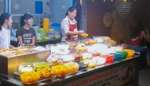 14 Thai street food desserts in Pratunam under 60 baht locals love to eat