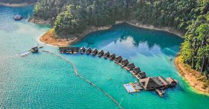 13 Reasons to stay at 500 Rai Floating Resort, Khao Sok National Park near Phuket, known as the 'Jurassic Park of Thailand'